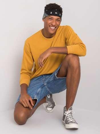 Żółta męska bluza bawełniana Ryder LIWALI