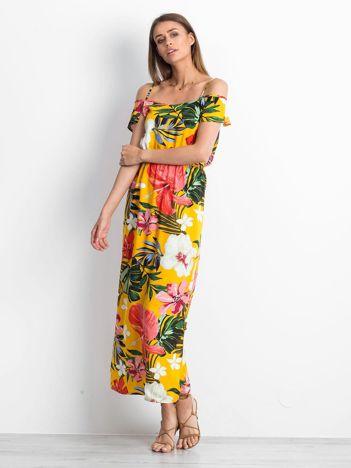 Żółta sukienka Honolulu