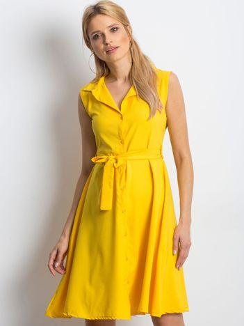 Żółta sukienka Masterclass