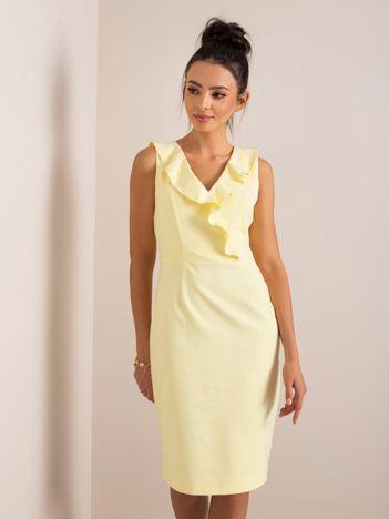Żółta sukienka Natalie RUE PARIS