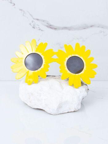 Żółte okulary stokrotki