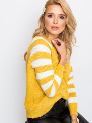 Żółty sweter Independent
