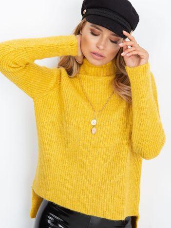 Żółty sweter Morning