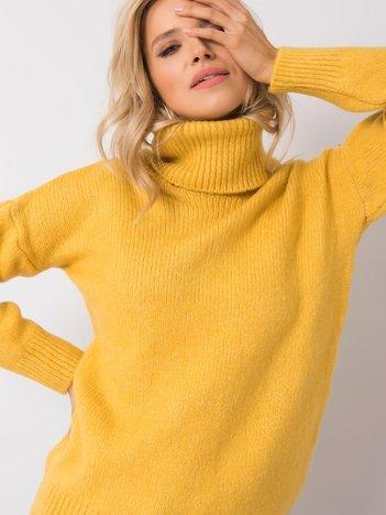 Żółty sweter Odille RUE PARIS