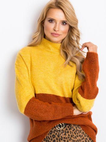 Żółty sweter Taylor