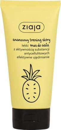nowość! ZIAJA Ananasowy lekki mus do ciała ujędrniający 160 ml