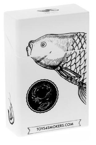 toys4smokers Etui silikonowe na papierosy FISH