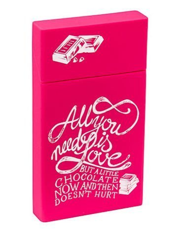 toys4smokers SLIM /Etui silikonowe na papierosy- Chocolate love