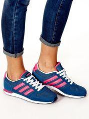 ADIDIAS Ciemnoniebieskie damskie buty sportowe
