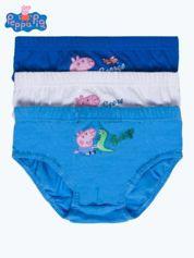 Bawełniane majtki chłopięce ŚWINKA PEPPA 3 szt