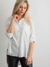Biała luźna koszula