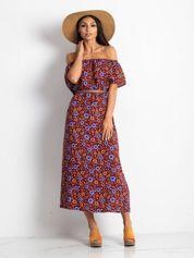 Bordowa sukienka Empowering