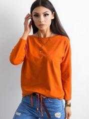 Ciemnopomarańczowa bluzka Fiona