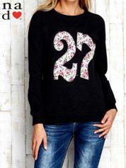 Ciemnoszara bluza z cyfrą 27