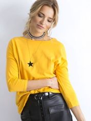 Ciemnożółta bluzka April