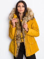 Ciemnożółta kurtka Winter