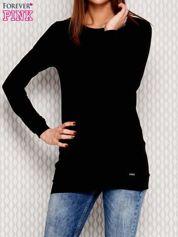 Czarna bluza z koronką