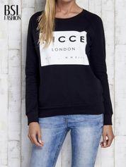 Czarna bluza z napisem NICCE LONDON