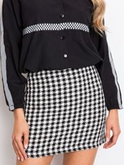 Czarno-biała spódnica Ishani