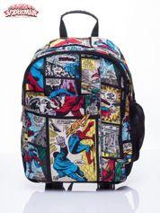 Czarny plecak szkolny MARVEL Spiderman