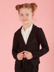 Czarny żakiet dla dziewczynki