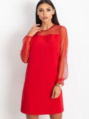 Czerwona sukienka Vanity
