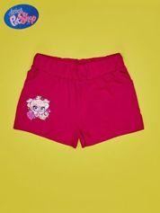 Fuksjowe szorty dla dziewczynki LITTLEST PET SHOP