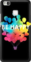 Funny Case ETUI HUAWEI P9 LITE BE HAPPY