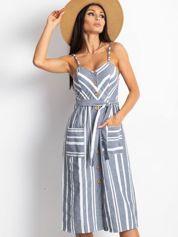 Granatowa sukienka Legitimately