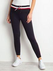 Granatowe spodnie Brightside