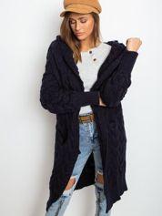 Granatowy sweter Sweetie