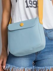 Jasnoniebieska torebka na ramię