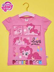 Jasnoróżowy t-shirt dla dziewczynki MY LITTLE PONY