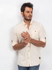 Jasnożółta koszula męska Concrete