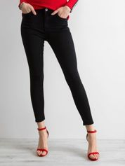 Jeansy skinny czarne