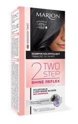 """Marion Two Step Shine Reflex Szampon koloryzujący nr 400 Hebanowy Twist  1op."""""""