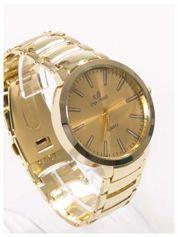 ORLANDO Klasyczny złoty męski zegarek na bransolecie