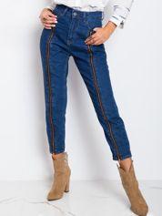 RUE PARIS Niebieskie jeansy Montana