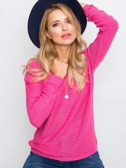RUE PARIS Różowy sweter Sugarfrost