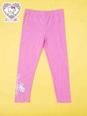 Różowe legginsy dla dziewczynki CHARMMY KITTY