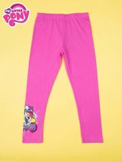 Różowe legginsy dla dziewczynki z motywem MY LITTLE PONY