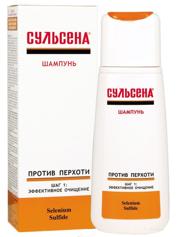 SULSENA Szampon przeciwłupieżowy 150 ml