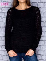 Sweter czarny z suwakiem
