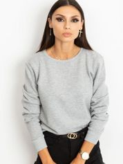 Szara bluza basic