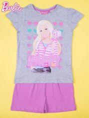 Szara piżama dla dziewczynki BARBIE