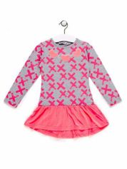 Tunika dla dziewczynki z nadrukiem różowa