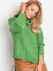 Zielony sweter Heavenly