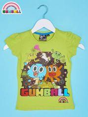 Zielony t-shirt chłopięcy GUMBALL