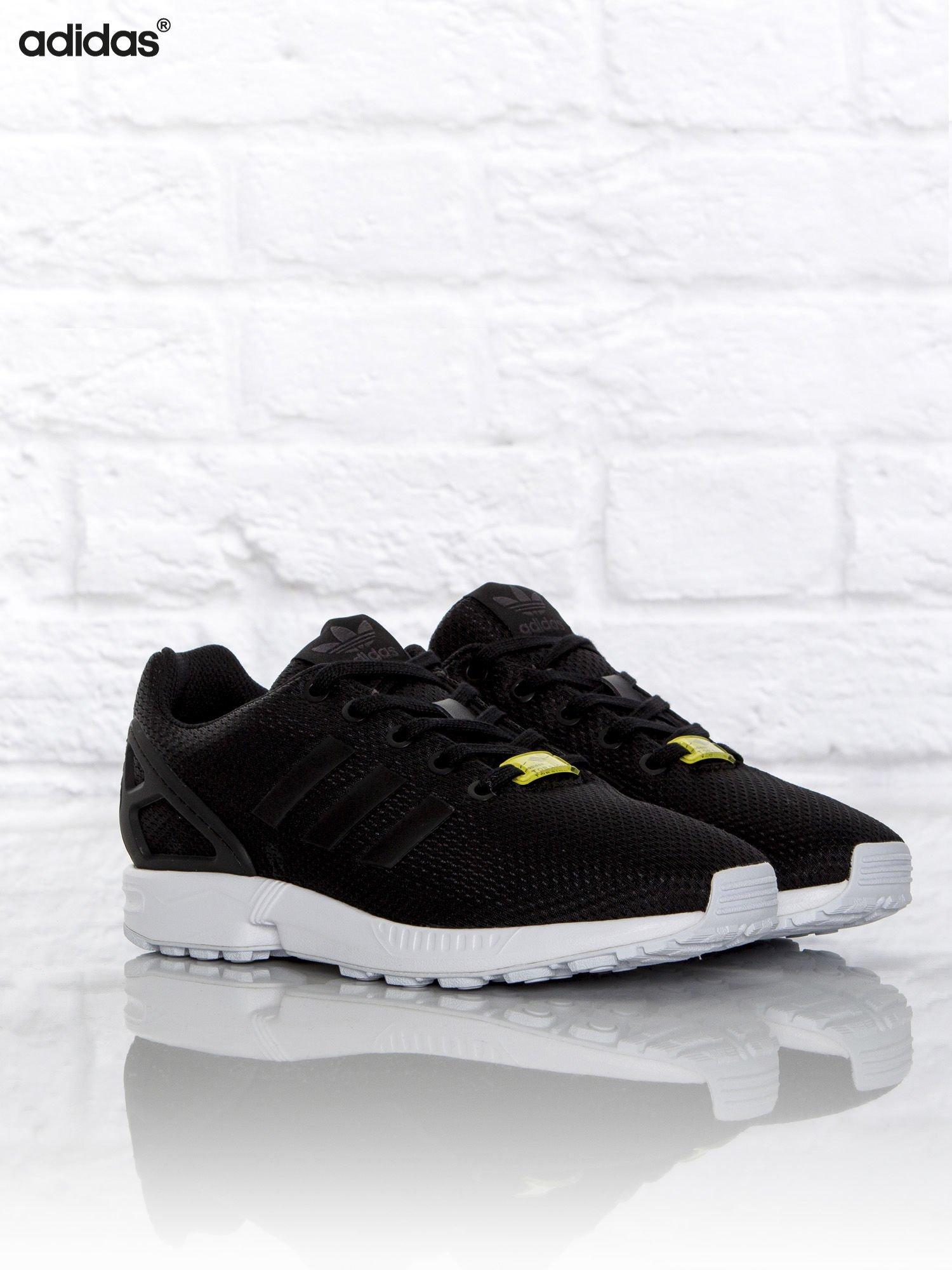 eleganckie buty Stany Zjednoczone najniższa zniżka ADIDAS Czarne buty sportowe damskie Zx Flux J