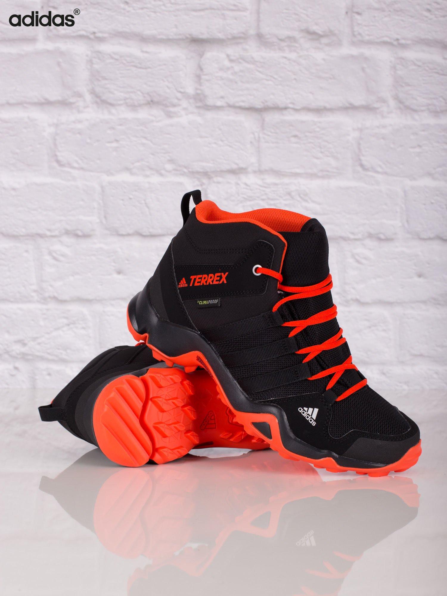 ADIDAS Czarne damskie buty sportowe TERREX AX2R MID CP